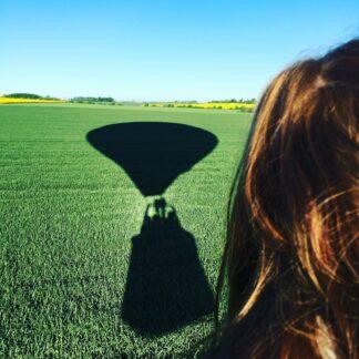 Skuggan av en ballong
